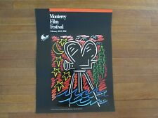 New listing Vintage Monterey Film Festival Poster 1988, Vintage Posters, Film Festival 1988