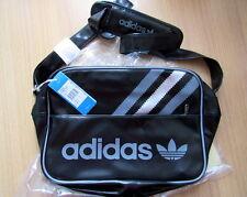 Adidas Vintage Cross Body Airline Bag/Sac Black/Met Silver BNWT Limited Ed Retro