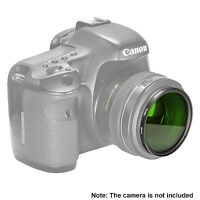 Neewer 58MM Green Lens Filter for Canon EOS Rebel T6i T6 T5i T5 T4i DSLR Camera