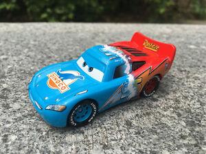 Disney Pixar Car Transforming McQueen Metal Toy Cars New Loose