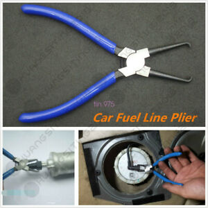 Autos Car Fuel Line Petrol Clip Pipe Hose Connector Quick Release Removal Plier
