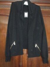 Jaegar XL Black Mix Collared Cardigan Jacket Size XL (New 3/834)