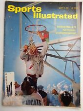 March 18,1963 Sports Illustrated Magazine-Basketball's National Championship
