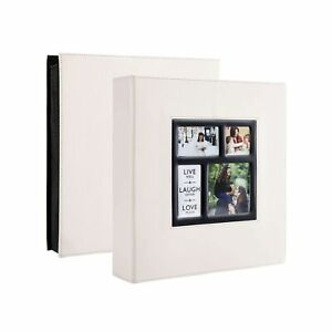 Artmag Photo Album 4x6 600 Photos, Large Capacity Wedding Family Leather Cove...
