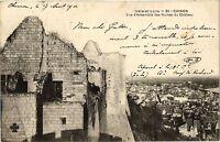 CPA  Indre-et-Loire -Chinon -Vue d'ensemble des Ruines du Cháteau    (298917)