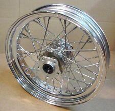Chrome Spoke Rear Wheel fits Harley FLST ~ FATBOY 16 X 3.5
