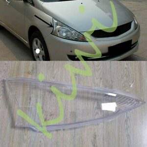 For Mitsubishi Grandis 2004-2009 Right Side Headlight Clear Cover + Glue