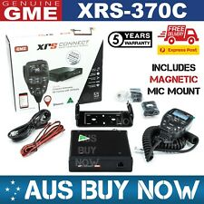 FAST GME XRS-370C 5W 80CH UHF CB TWO WAY COMPACT RADIO XRS 370C TRUCK CAR 370