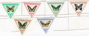Maluku Islands Indonesia Fauna Tropical Butterflies stamps 1949 MLH