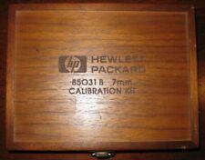 Hp 85031b 7mm Apc 7 Calibration Kit