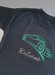 Personalised T - shirt, embroidered shirt,unisex t-shirt, Embroidery file Car