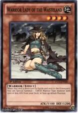 Warrior Lady of the Wasteland x3 1st YS11-EN041 NM Dawn of the Xyz Yugioh