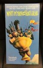 Monty Python and the Holy Grail VHS 1975 Comedy Terry Gilliam John Cleese Cult
