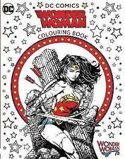 Wonder Woman Colouring Book, Brothers, Warner, New Book