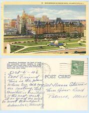 Marlborough Blenheim Hotel Atlantic City New Jersey Teich Postcard Architecture