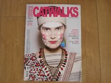 Book Catwalks Magazine Pret & Porter Fall / Winter 2014 / 15 New.