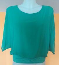 Abbigliamento moda donna MAGLIA verde fashion OCCASIONE  made in Italy