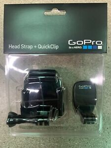 New Sealed Genuine GoPro Head Strap + QuickClip ACHOM-001