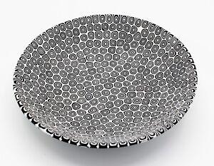 Piatto Vetro di Murano Murrine Moretti Diametro 19 centimetri Made in Italy