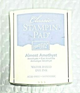 Stampin' Up! Almost Amethyst Classic Stampin' Pad Water Based Dye Ink