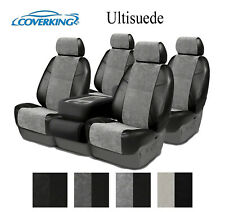 Coverking Custom Seat Covers Ultisuede Front and Second Row - 4 Color Options