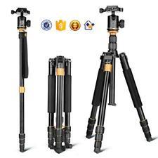 Tripod Camera Stand Portable Head Professional Flexible For Canon Dslr Travel Dv