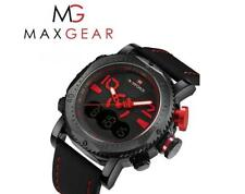 Mens Quartz analog Digital luxury wrist watch