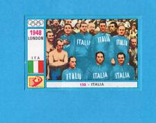 OLYMPIA-1972-PANINI-Figurina DA INCOLLARE! n.150- ITALIA TEAM PALLANUOTO -Rec