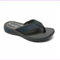 Rockport Men's Get Your Kicks  GYKS Thong  Flip Flops, Blue, V79625 Size 10