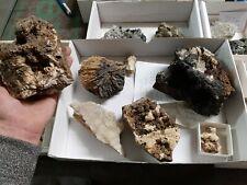 Mineralien Sammlung Harz Bad Grund Steinbruch Winterberg Baryt Calcit