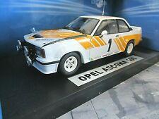 OPEL Ascona 400 B Rallye Präsentation Muletto ready t race 1980 #1 Sunstar 1:18