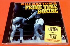 Bill Cayton's Prime Time Boxing Sonny Liston VS Cassius Clay Free Shipp U.s.
