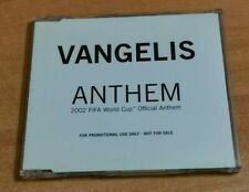 VANGELIS Anthem REMIXES ULTRA RARE AUSTRIA PROMO CD SINGLE FIFA 2002 RARE COVER
