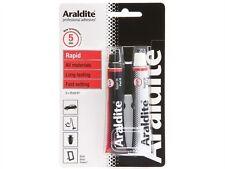 Araldite RAPIDO Senza Solventi Impermeabile Resistente Adesivo 15ml (2) Tubi