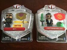 Tube Heroes Captain Sparklez + Sky Figure Boxed