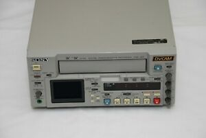 Sony DSR-45P PAL DVCAM MiniDV Player/Recorder deck take large and small tape