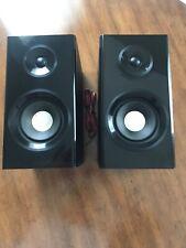 Philips BTM2180 Black Micro Music System Satellite Speakers Surround Sound Pair