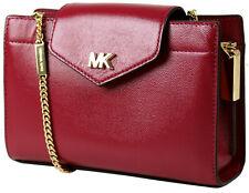 MICHAEL KORS Tasche MOTT 32H9GOXC2A Umhängetasche bag Crossover Kette Berry Rot