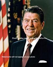 1981 Conservative Republican 40th President Ronald Wilson Reagan Portrait Photo