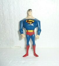 Superman The Animated Series Action Figure No Cape Red Diamond on Back S-69