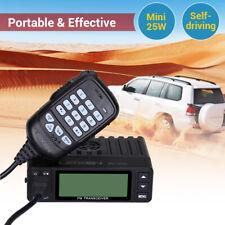 25W 200CH doble banda móvil coche radio aficionado Walkie Talkie Transceptor De mano