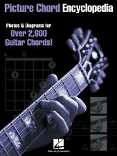 Picture Chord Encyclopedia - 9in x 12in Edition Guitar Educational 000695224