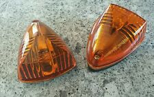 Qnty 2 - Amber Tear Drop Clearance Marker Light,  RV Trailers Motorhome Camper