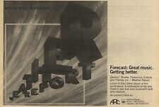 "20/2/82Pgn07 Advert: Weather Report's New Album Of The Same Name '7""x11"""