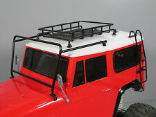 Windshield Protector Frame Roof Rack Stair Combo for Tamiya RC 1/10 Land Cruiser