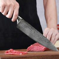 8 Inch Chef's Knife High Carbon Stainless Steel Kitchen Knife Ergonomic Handle