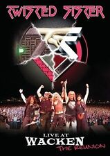TWISTED SISTER Live at Wacken: The Reunion 2 DVD SET ( FREE SHIPPING)