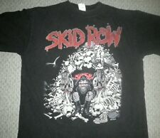 Skid Row 1992 Vintage Slave To the Grind Tour Shirt Mens XL Bach Metal Rock