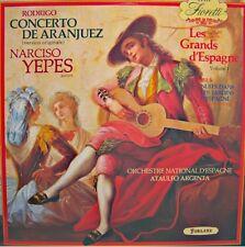 ARGENTA/ESPAGNE/YEPES concerto aranjuez/jardins d'espagne RODRIGO/DE FALLA LP NM