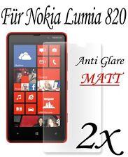 2 Stück Premium Anti Glare Matt Folie für Nokia Lumia 820 Schutzfolie Zubehör
